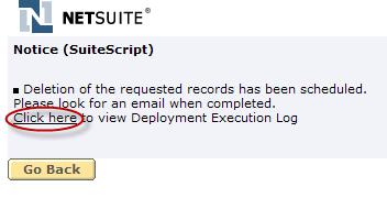 Delete Operation Status Message for Queue