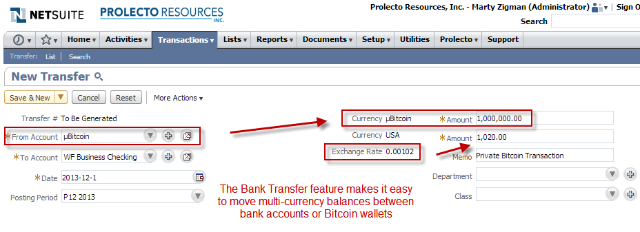 Transfer Bitcoin To Dollars