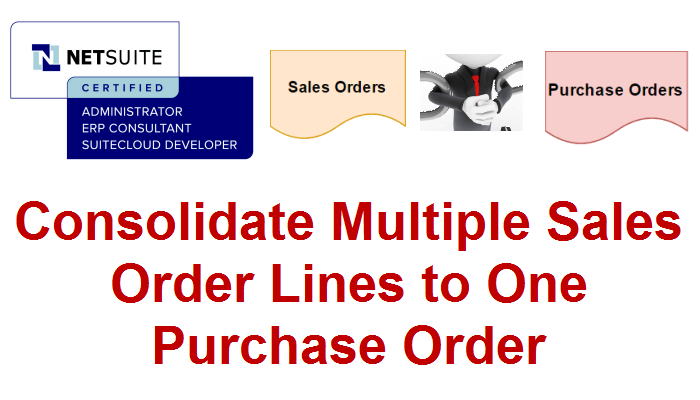 how to create a purchase order in netsuite
